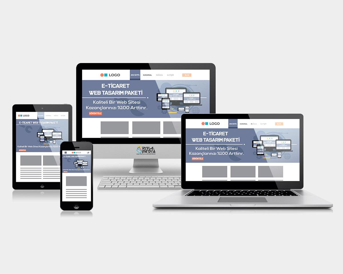 E-Ticaret Web Tasarım Paketi