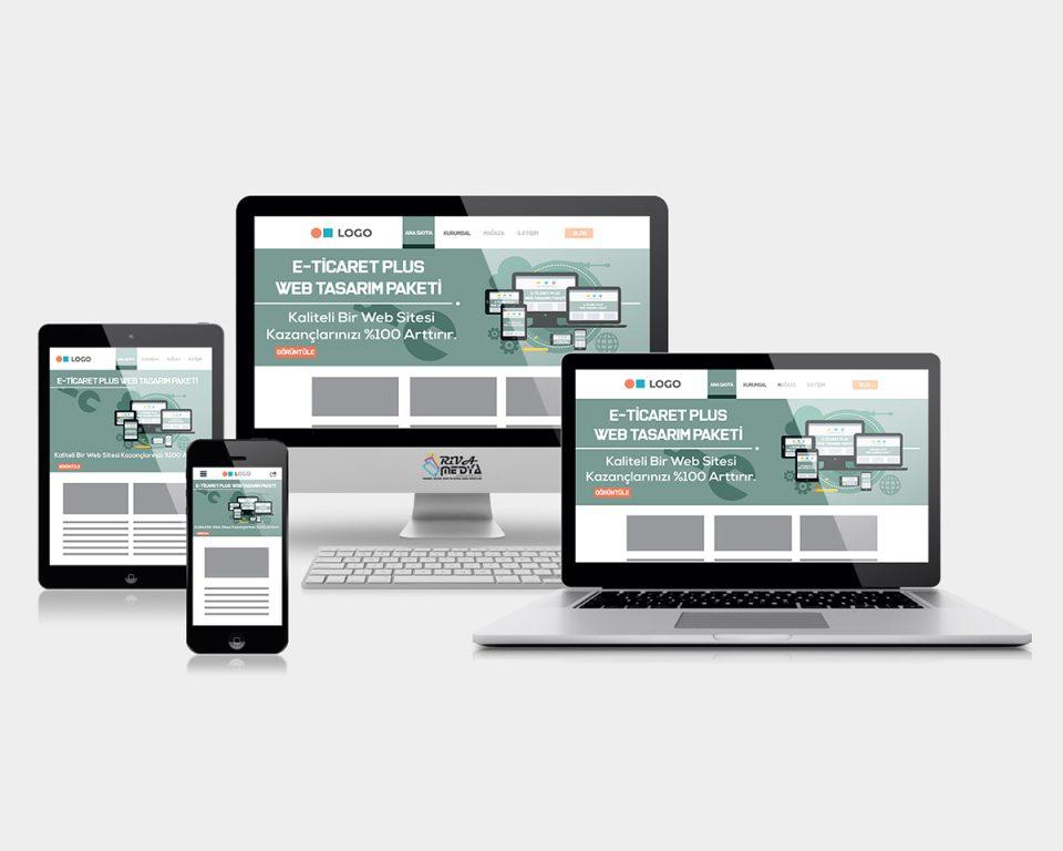 E-Ticaret Plus Web Tasarım Paketi