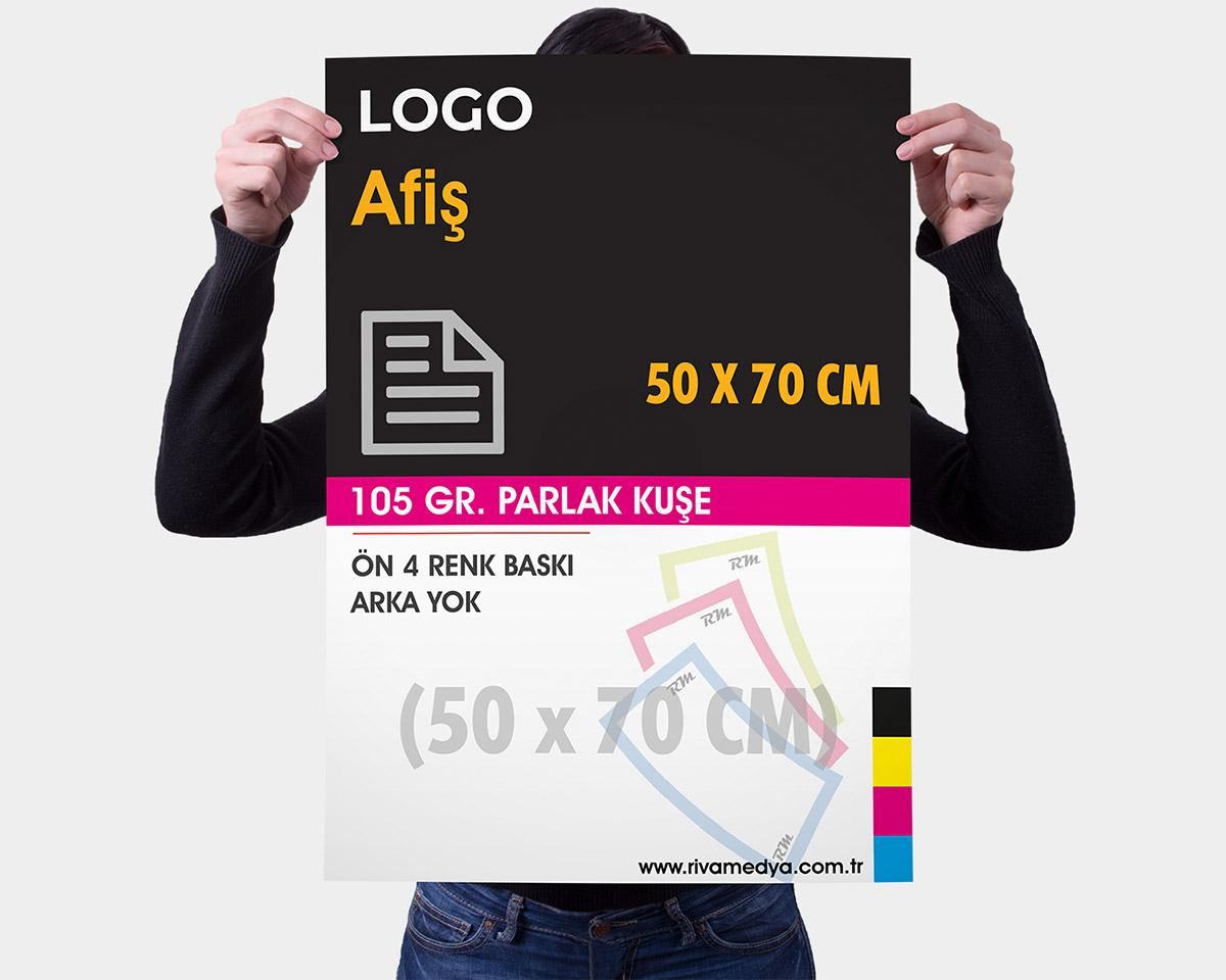 Afiş / Poster - 50x70 CM - (Tasarım + Baskı)